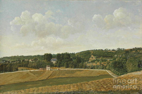 View Of Chatenay Poster