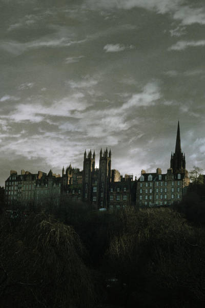 view of Edinburgh Poster