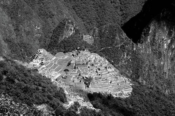 View Of Machu Picchu From The Inca Trail Poster