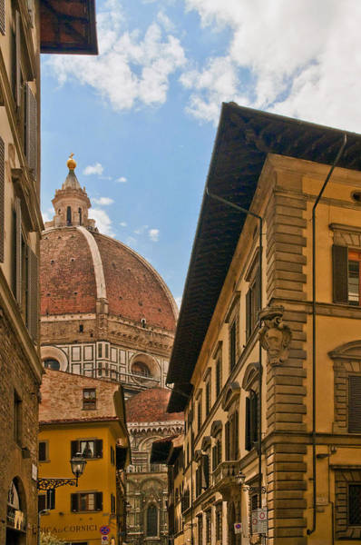 View Of The Duomo Poster