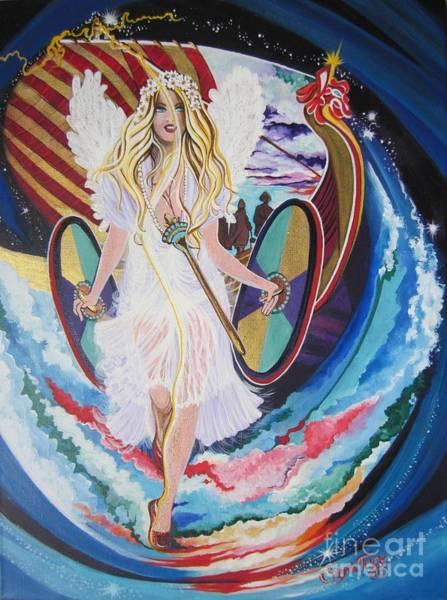Blaa Kattproduksjoner   Welcomes Viking Goddess  To  Egypt Poster