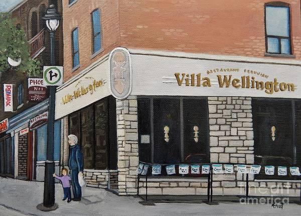 Villa Wellington In Verdun Poster