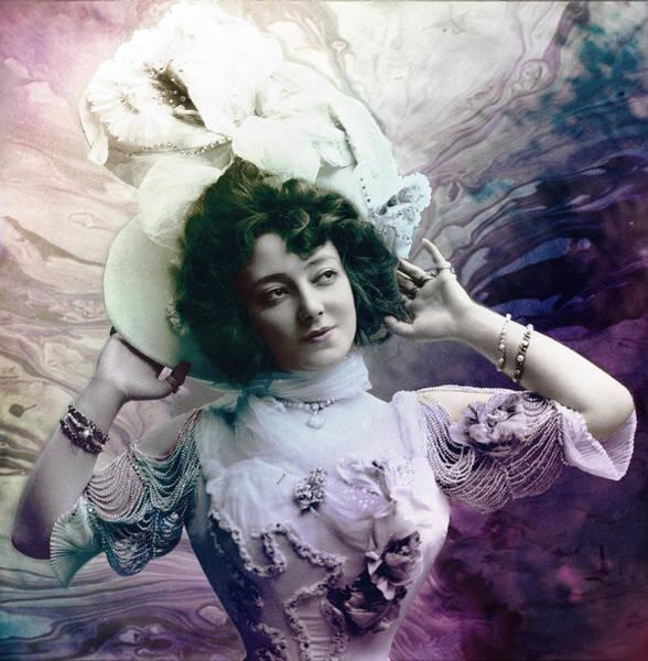 Vintage 1900 Fashion Poster