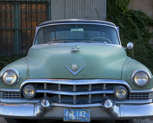 Poster featuring the photograph Vintage 1950s Cadillac by Gigi Ebert
