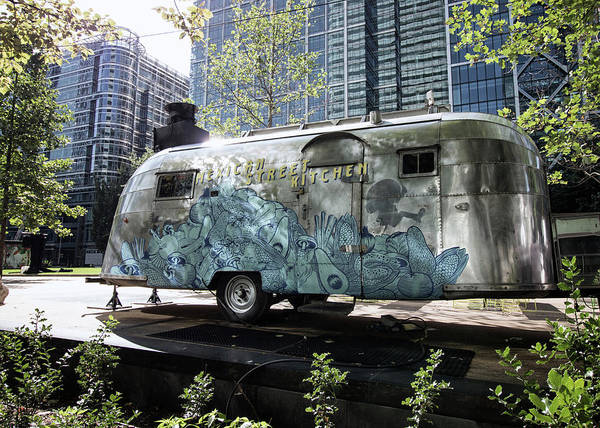Vintage Airstream Poster