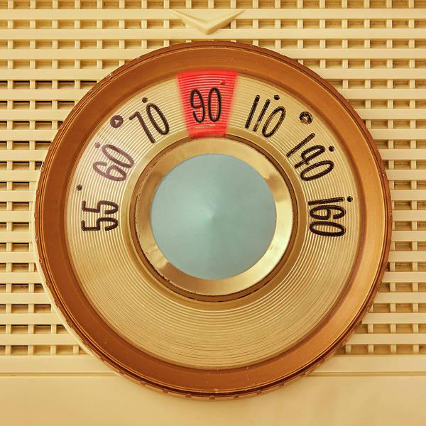 Vintage Am Radio Dial Poster