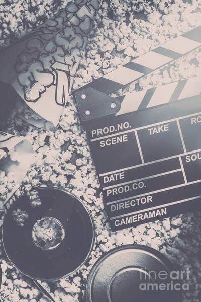 Vintage Film Production Poster