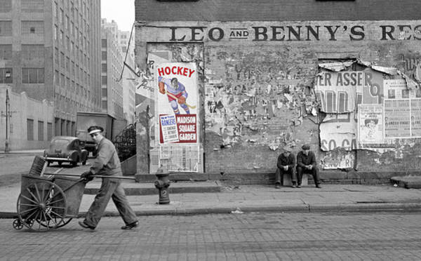 Vintage Hockey Poster Poster