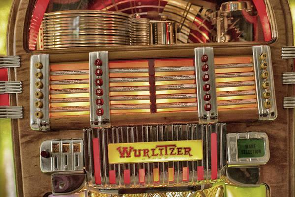 Vintage Jukebox Poster