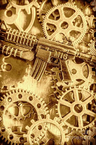 Vintage M16 Artwork Poster