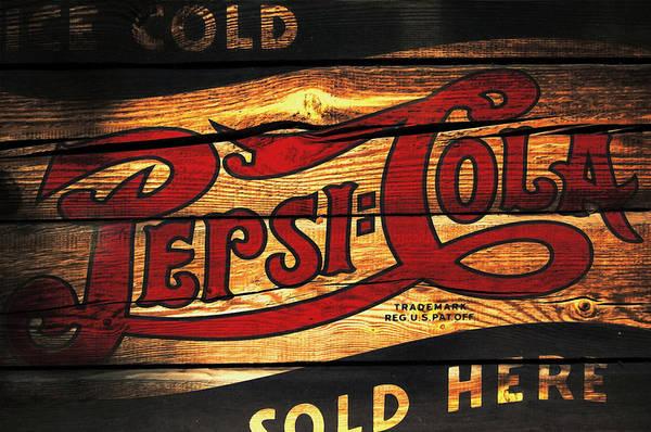 Vintage Pepsi-cola Sign 1a Poster