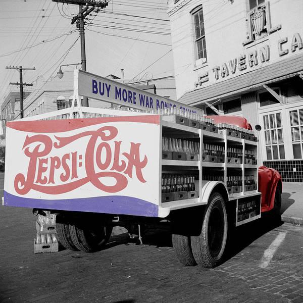 Vintage Pepsi Truck Poster