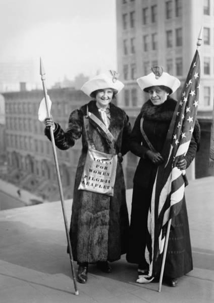 Vintage Photo Suffragettes Poster