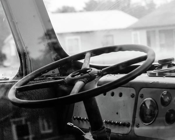 Vintage Steering Poster