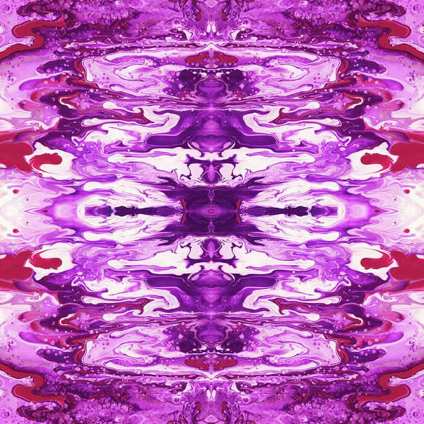 Violet Groove- Art By Linda Woods Poster
