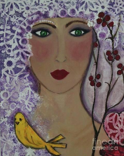 Violet Queen Poster