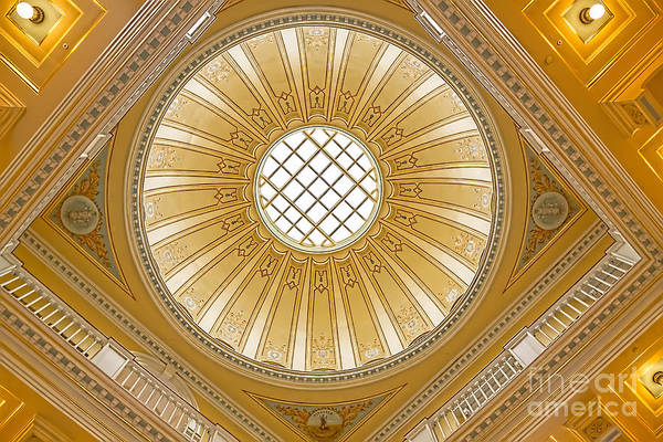 Virginia Capitol - Dome Poster