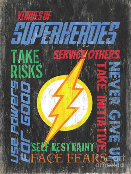 Virtues Of A Superhero 2 Poster