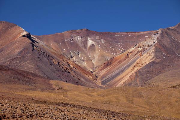 Volcano Crater In Siloli Desert Poster