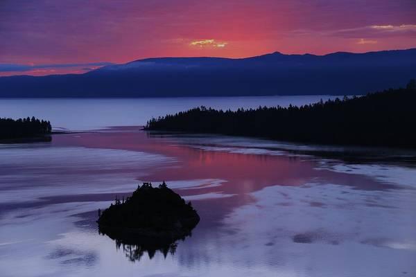 Wake Up In Lake Tahoe  Poster