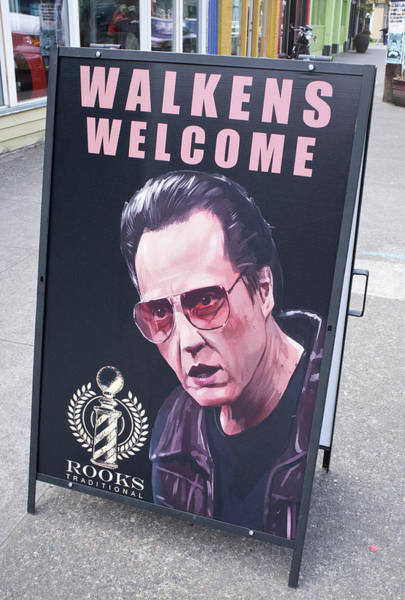 Walkens Welcome Poster