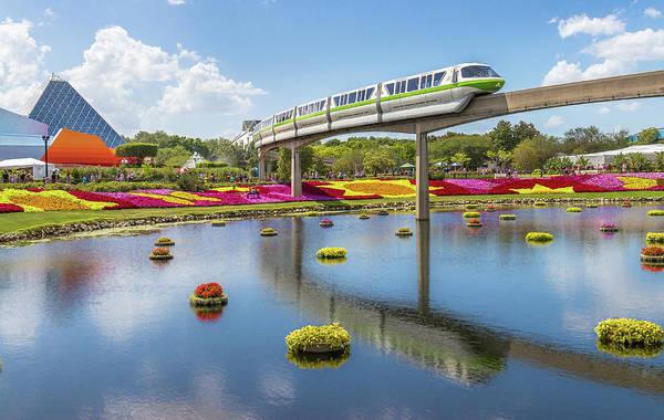 Walt Disney World Epcot Flower Festival Poster