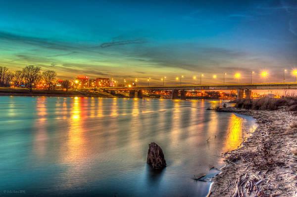 Warsaw Reflected By Vistula River Poster