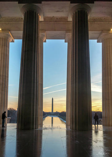 Washington Through Lincoln Poster