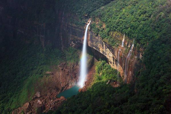 Water Falls At Cherrapunji, India Poster