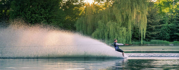 Water Skiing Poster