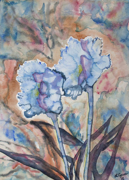 Watercolor - Orchid Impression Poster