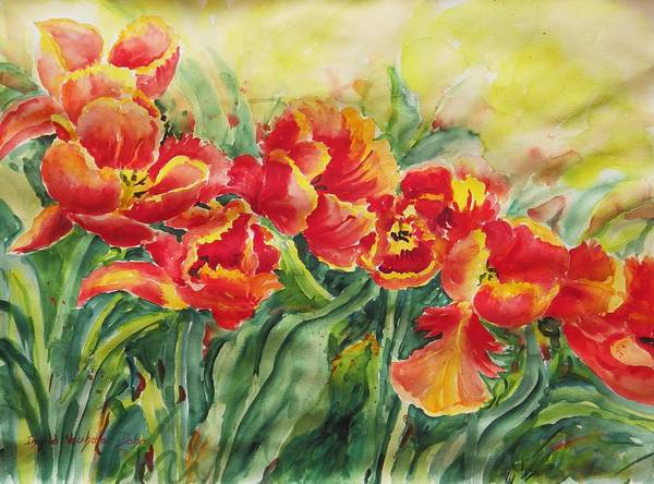 Watercolor Series No. 241 Poster