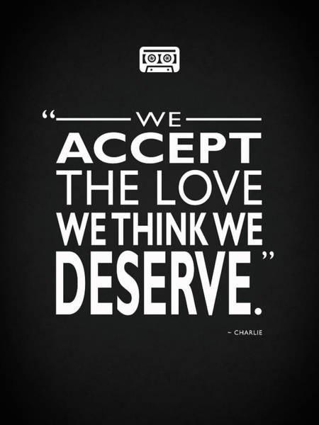 We Accept The Love Poster
