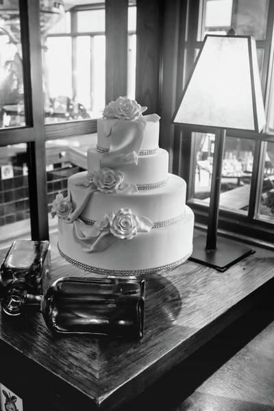 Wedding Cake Bw Series 0956 Poster