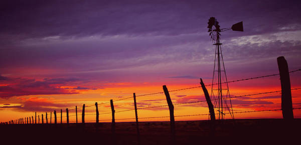 West Texas Sunset Poster
