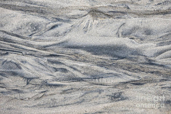 Wet Sand Abstract I Poster