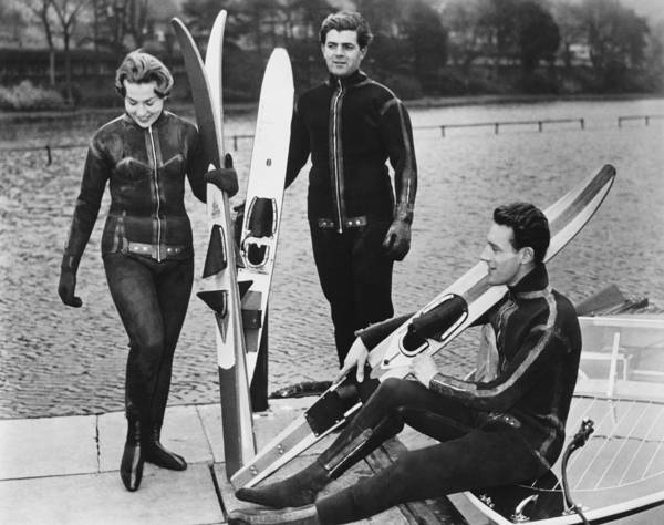 Wetsuits For Water Skiers Poster