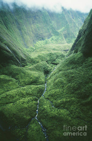 Wettest Spot In Hawaii Poster
