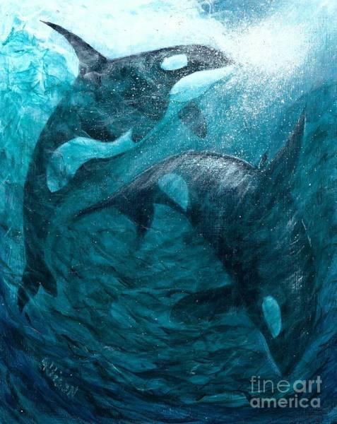 Whales  Ascending  Descending Poster