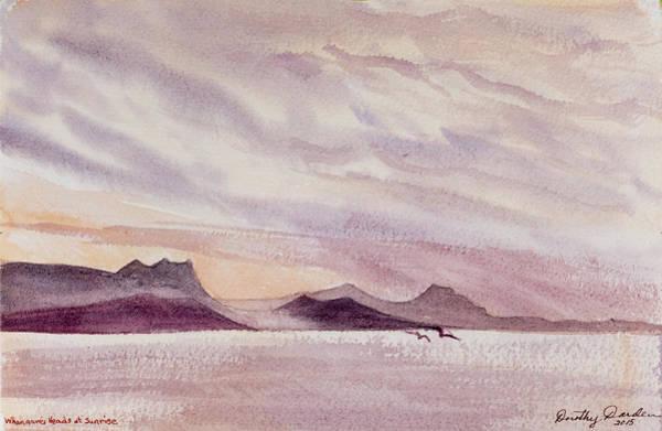 Whangarei Heads At Sunrise, New Zealand Poster