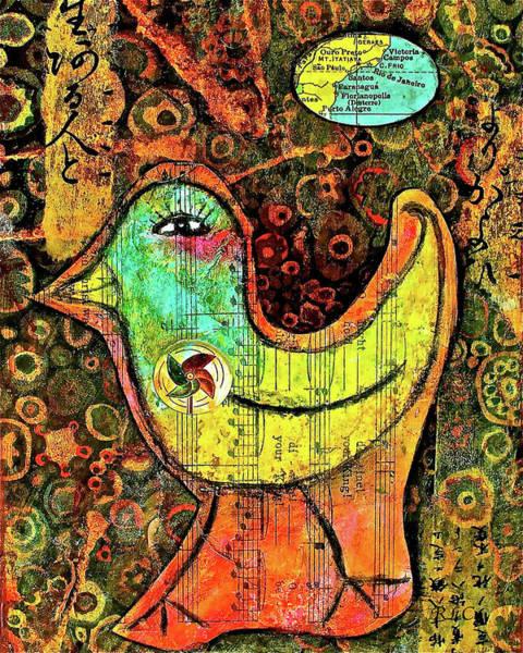 Whirly Bird Poster