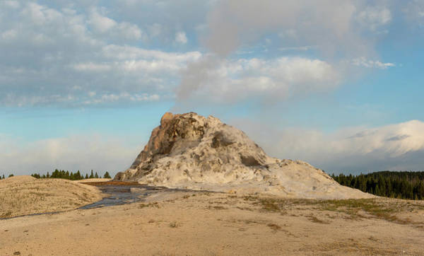White Dome Geyser Poster