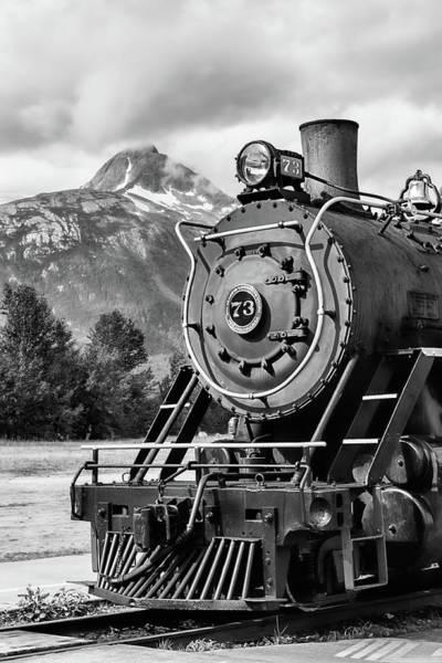 White Pass Railway Engine 73 Poster
