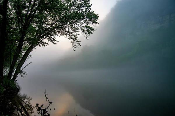 White River Morning Poster