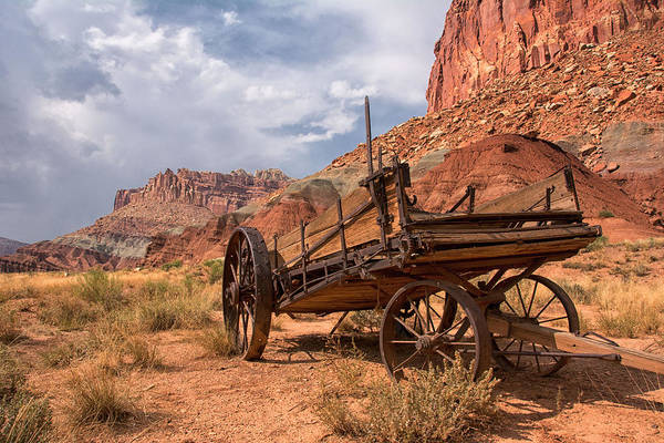 Poster featuring the photograph Wild Wild West by Darlene Bushue