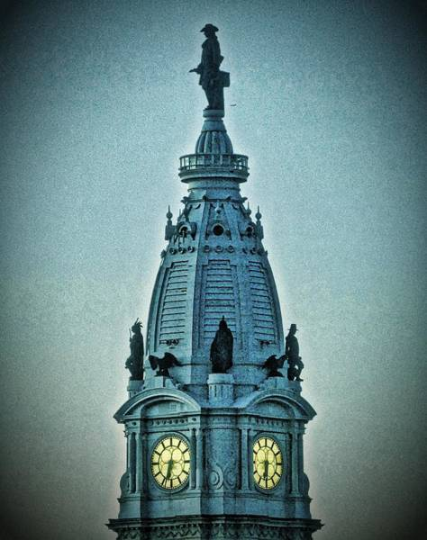 William Penn On Top Poster