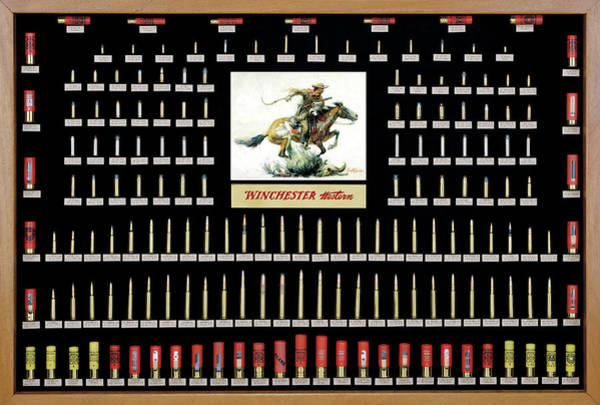 Winchester Ammunition Cartridge Board Poster