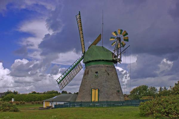 Windmill Amrum Germany Poster