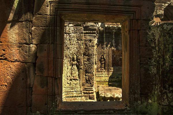 Window Into Angkor Wat Poster
