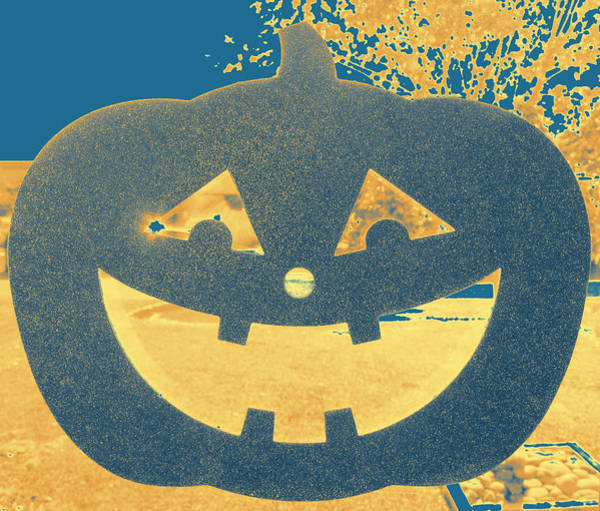 Window Pumpkin #2 Poster